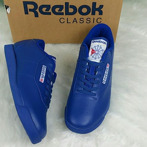 Reebok Women s Princess Running Shoe Blue 9.5 M 1a51e811a